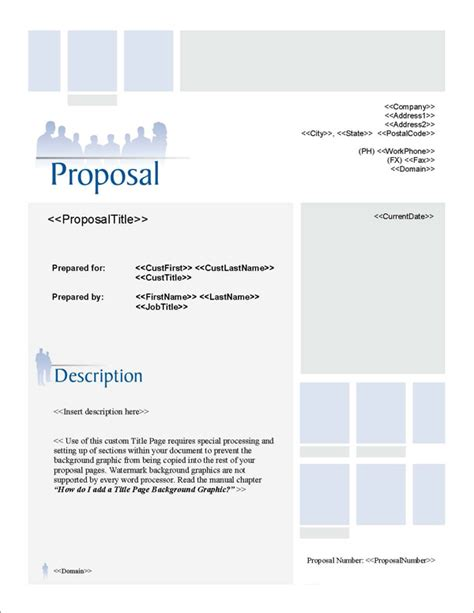 design proposal title proposal pack events 3 software templates sles