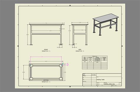 Welding Table Plans My Open Source Projects Welding Table Construction