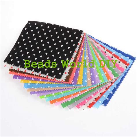 patterned felt sheets online buy wholesale patterned felt squares from china