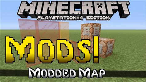 mod in minecraft ps4 minecraft ps4 ps3 mods youtube