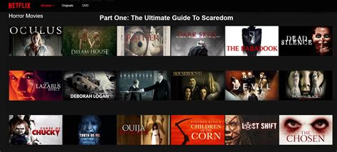 is house on netflix the best horror films on netflix may 2016