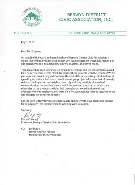 appreciation letter to project manager appreciation letter to project manager 28 images amad