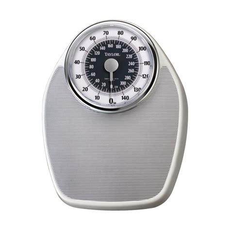 dial bathroom scale taylor 1351es analog 330lb 150kg capacity bathroom scale