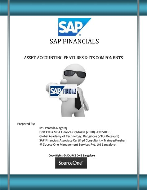 Sap Course For Finance Mba by Sap Financials Asset Accounting Features And Its Components