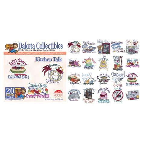 kitchen embroidery designs dakota collectibles kitchen talk embroidery designs at ken