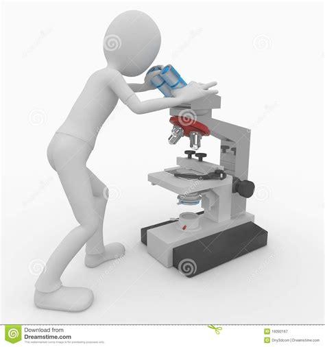 regolamento aziendale interno 3d with microscope stock illustration illustration of