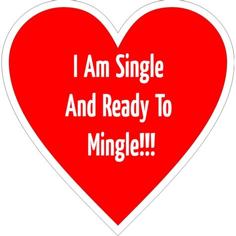 I Am Single i am single ready to mingle placard