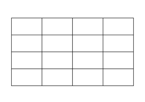 free blank bingo card templates printable 5 best images of printable blank cards blank