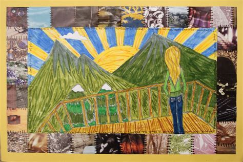 Story Quilt by A Faithful Attempt Faith Ringgold Style Story Quilts