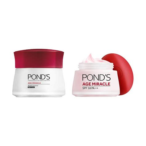 Krim Mata Ponds Age Miracle jual pond s age miracle day 50 g pond s age miracle jar 50 g