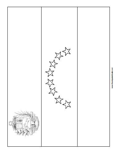 imagenes para colorear la bandera de venezuela dibujos para colorear de los simbolos patrios de venezuela