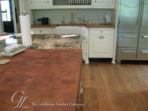 custom teak butcher block countertop in ga