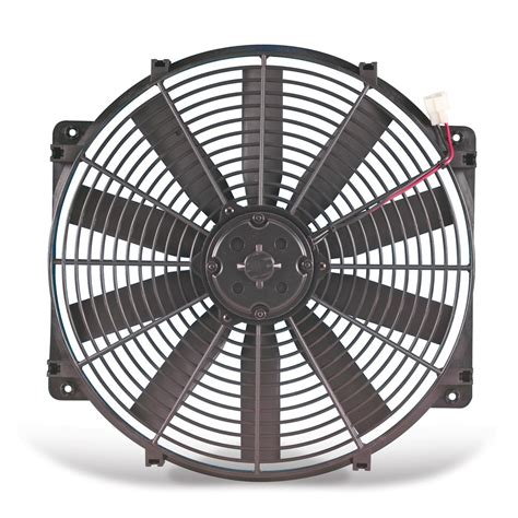 flex a lite electric fan flex a lite automotive 24 volt 16 inch trimline auxiliary