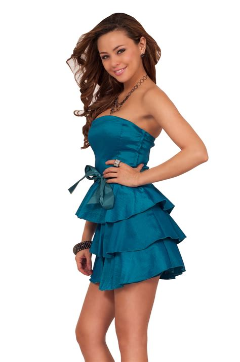 Strapless Frill Dress In The Style Of Miller by Strapless Tiered Ruffle Dress Cocktail Dresses 2016
