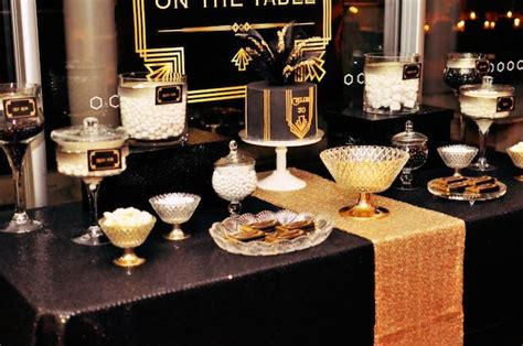 gender theme in the great gatsby kara s party ideas great gatsby themed birthday party via