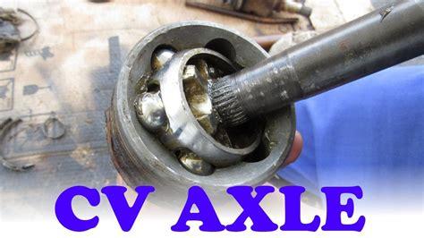 how a cv axle works