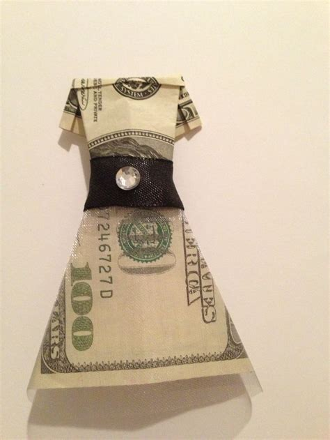 Money Origami Wedding Dress - pin by danielle fotter on money origami