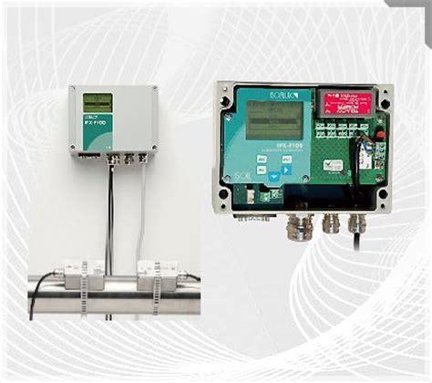 calcolo portata acqua misuratore di portata ad ultrasuoni trasportabile con