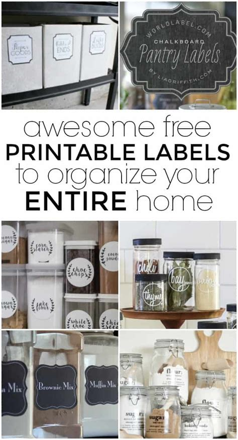 printable labels home organization printable labels to organize every room today s creative