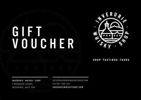 Whisky Gift Card - gift vouchers inverurie whisky shop