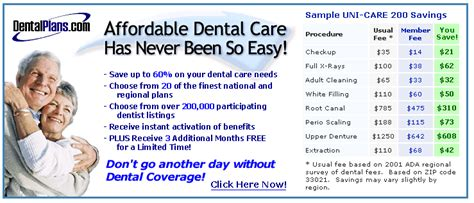 dental insurance plans dental insurance plans