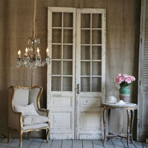 Antique French Crystal Chandelier Antique French Doors Coastal Fog
