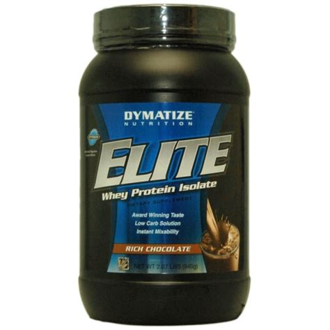 Elite Whey Isolate Dymatize Elite Whey Protein Isolate 920g Sportitude