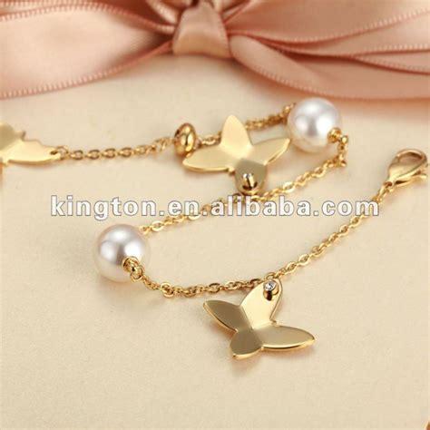 Latest Design Fashion 18k Gold Bracelets For Girls   Buy Girls Gold Bracelets,Bracelet For Girls