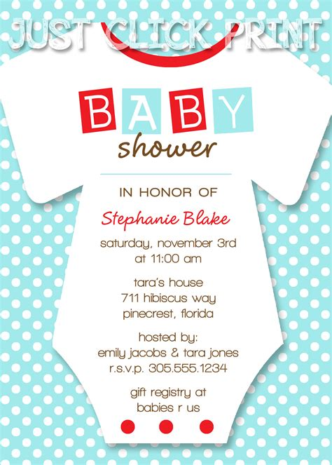 printable onesies invitations onesies baby shower invitation printable any color 183 just