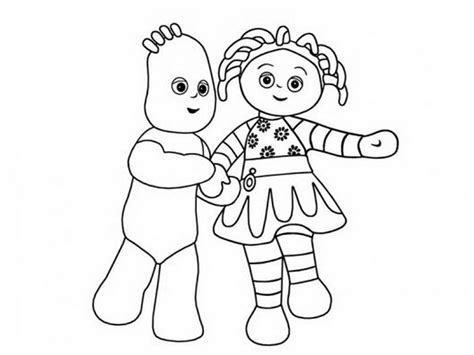 Coloriage Igglepiggle Pictures 502989 171 Coloring Pages For Iggle Piggle Colouring Pages