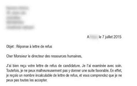 Redaction D Une Lettre De Recours Pour Refus De Visa Francais Buzz Refuser Une Lettre De Refus D Un Recruteur
