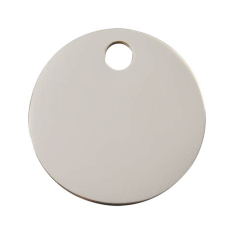 stainless steel tags stainless steel circle pet tag