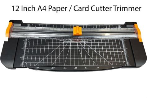 What Is The Best Paper Cutter For Card - heavy duty a4 photo paper cutter guillotine card trimmer