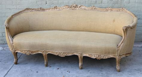 Carved Sofa by Carved Louis Xv Style Sofa At 1stdibs