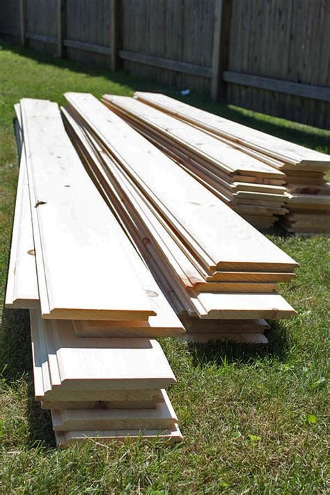 shiplap material how to install shiplap walls the home depot blog