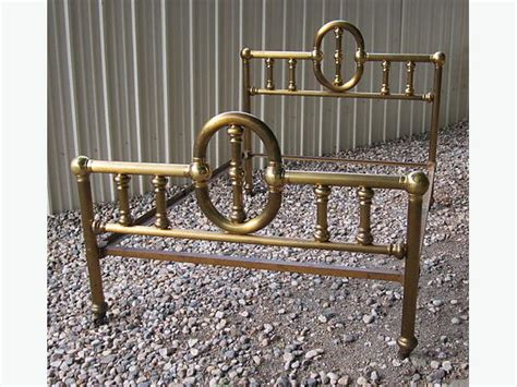 antique bed rails antique 54 quot brass bed with rails full size bed west