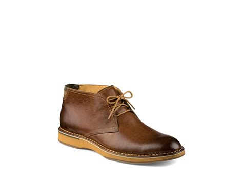 sperry boots sperry top sider gold norfolk chukka boots in brown for