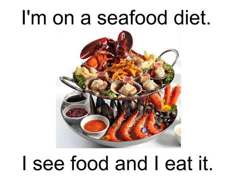 Jokes About Detox Diets by Seafood Diet Joke Weight Loss Supplement Stack Flat