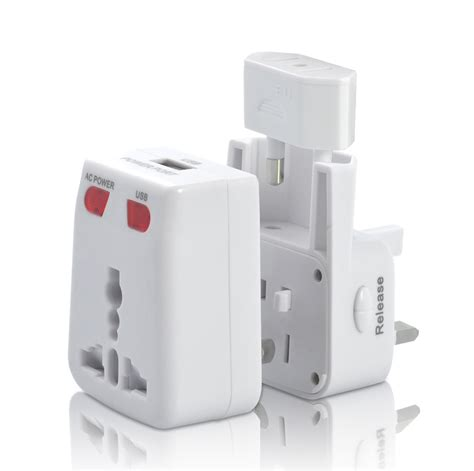 Universal Travel Adapter Sl 199 4u02 4 Smart Usb Charging Port 3 compact universal travel adapter with usb charging port txr g552 us 4 64 plusbuyer
