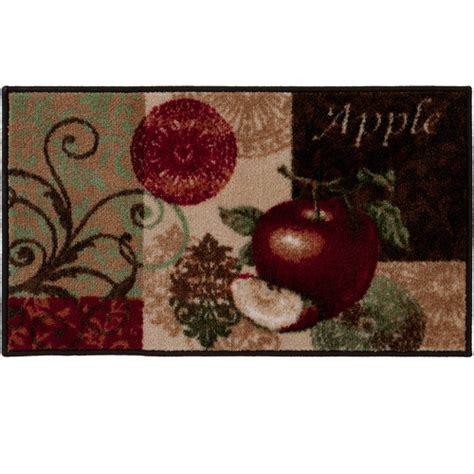Apple Kitchen Rugs Kitchen Apple Rugs Shaw Kitchen Rug Apple 1 7 5 Quot X 2 10 Quot Kitchen Ideas