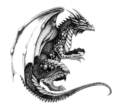 dragon tattoo design black tattoos designs nn black