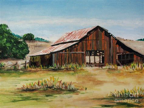 Canada Home Decor by The Old Barn Painting By Nancie Johnson