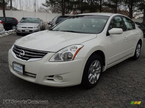 nissan altima white 2012 2012 nissan altima 2 5 s in winter white 450782