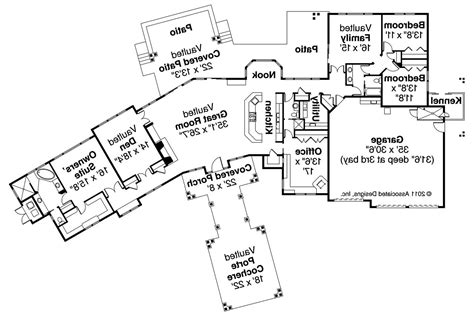 Craftsman House Floor Plans by Craftsman House Plans Woodcliffe 30 715 Associated Designs