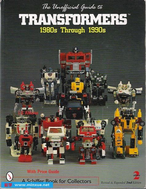 the unofficial guide to vintage transformers 1980s through 1990s books 变形金刚玩具非官方指南1980s 1990s the unofficial guide to