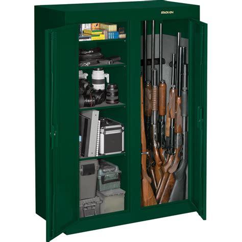 Gun Cabinet Door Locks Stack On Convertible Door Gun Cabinet Green Key Lock Model Gcdg 9216 Safes
