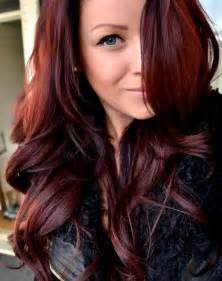 should in their late 40scolor their hair auburn light auburn and burgundy hair color mix