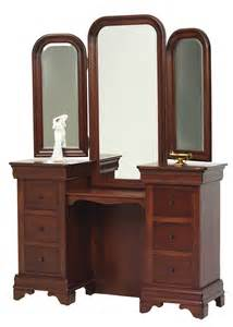 Vanities With Mirrors Bedroom Louis Phillipe Vanity With Mirror Frontier