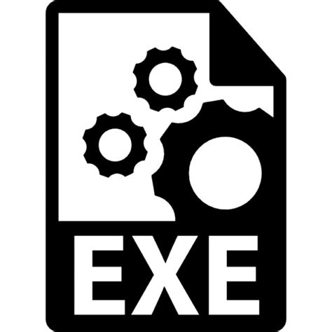 format file exe exe file format symbol icons free download