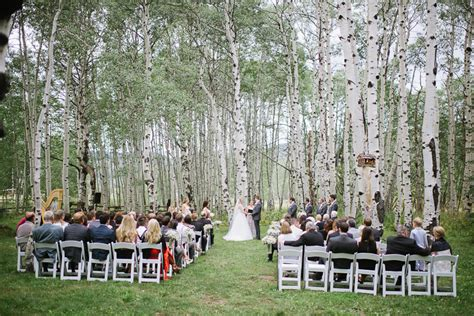 Perry Mansfield Wedding in Steamboat Springs